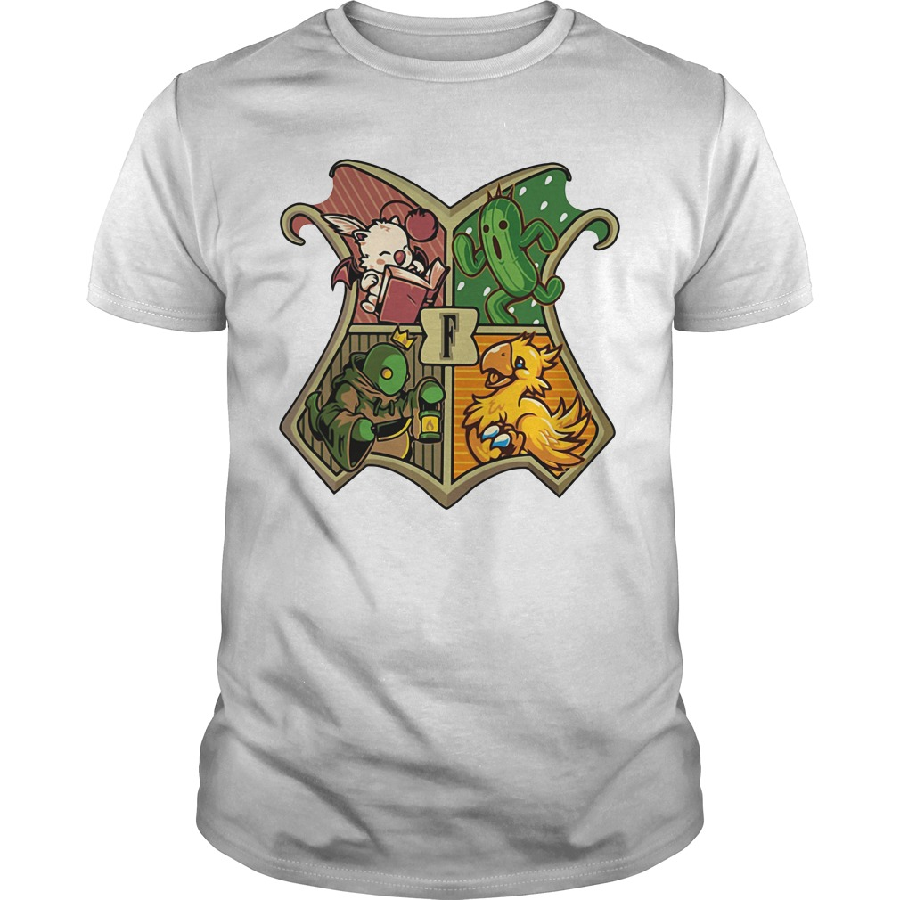 Cactuar, Chocobo, Moogle, and Tonberry I'm gamer Guys shirt