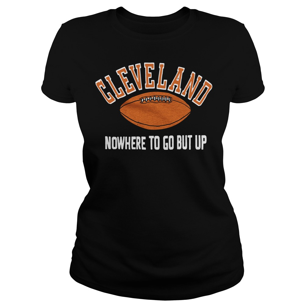 Cleveland nowhere to go but up Ladies tee