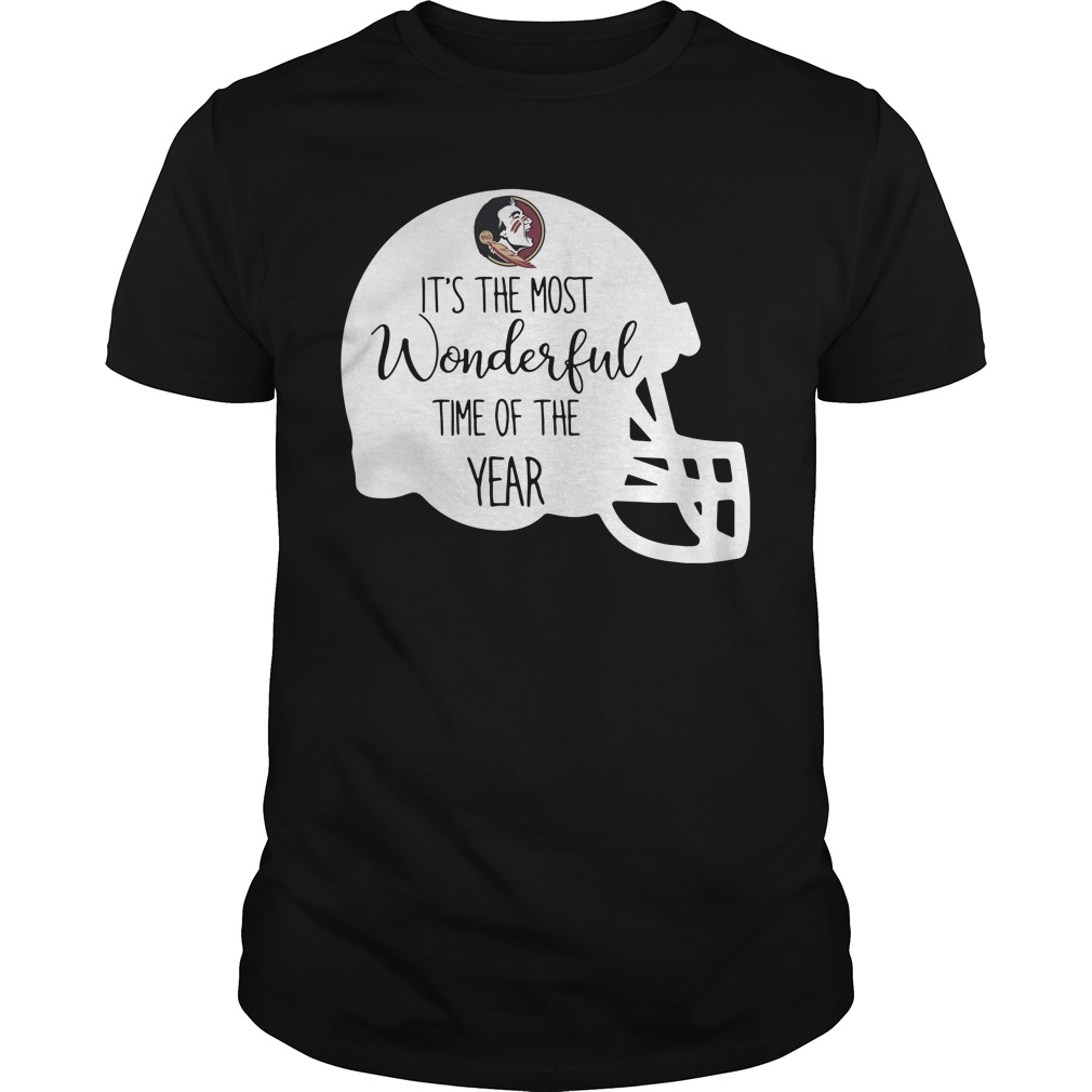 Florida State it's the most wonderful time of the year Guys shirt