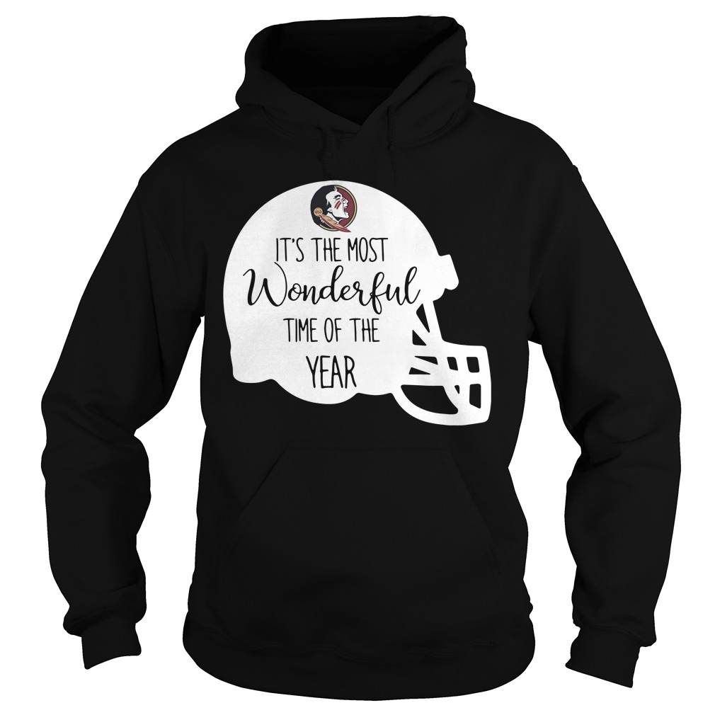 Florida State it's the most wonderful time of the year Hoodie