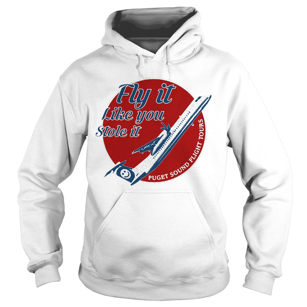 Fly it like you stole it puget sound flight tours Hoodie