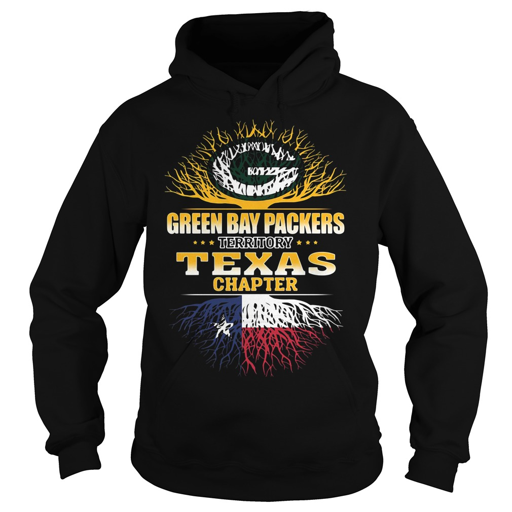 Green Bay Packers territory Texas chapter Hoodie