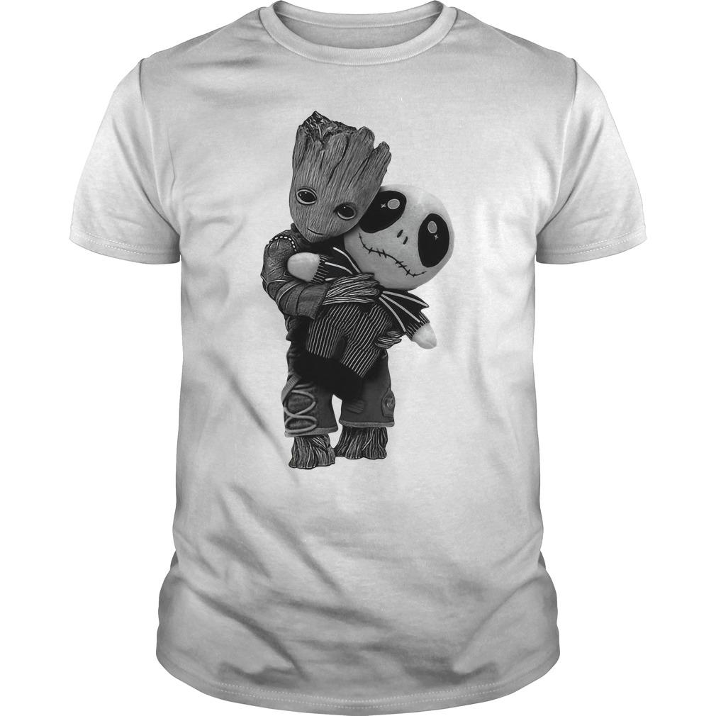 Groot Nightmare Hugging Jack Guys shirt