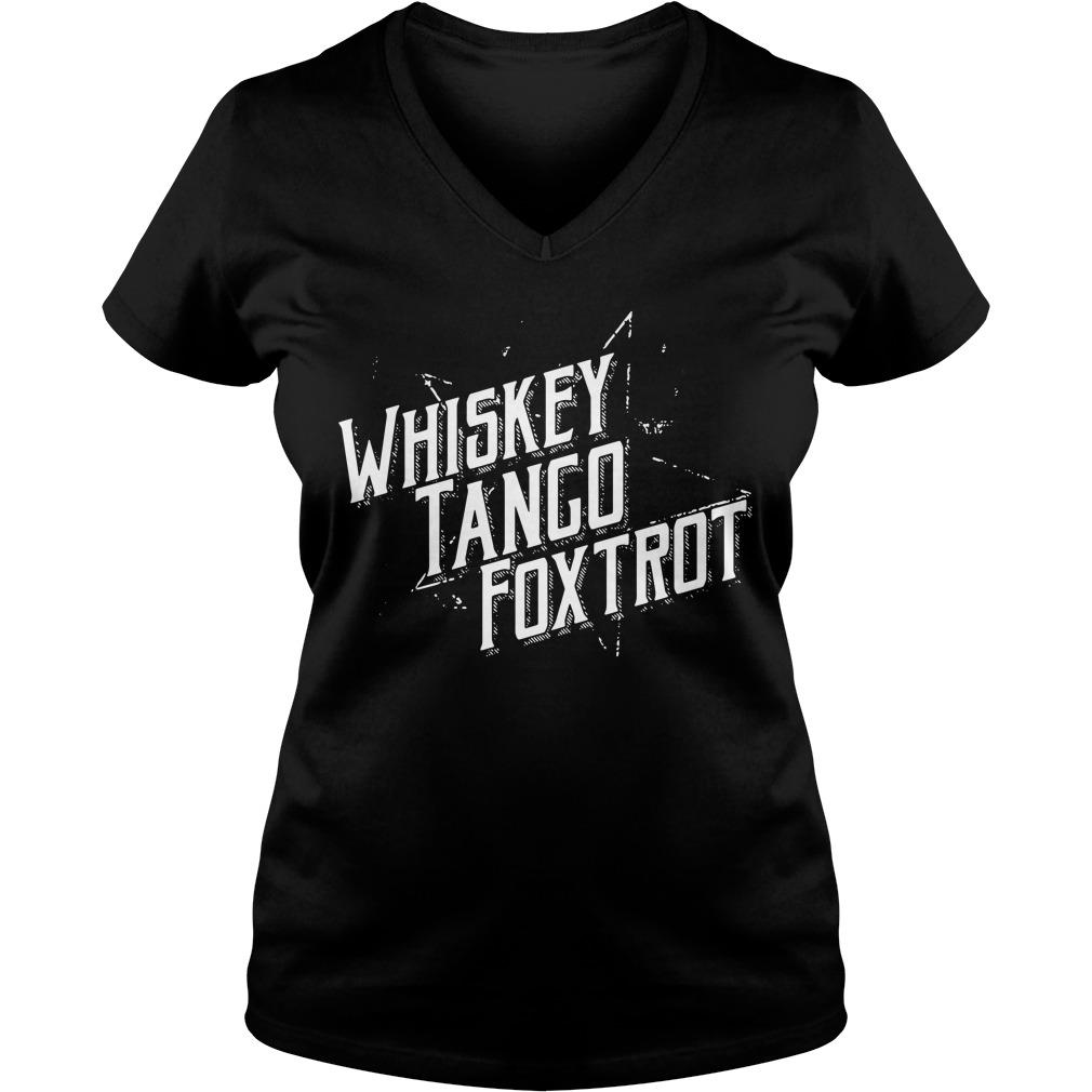 Grunt Style - Whiskey Tango Foxtrot V-neck T-shirt