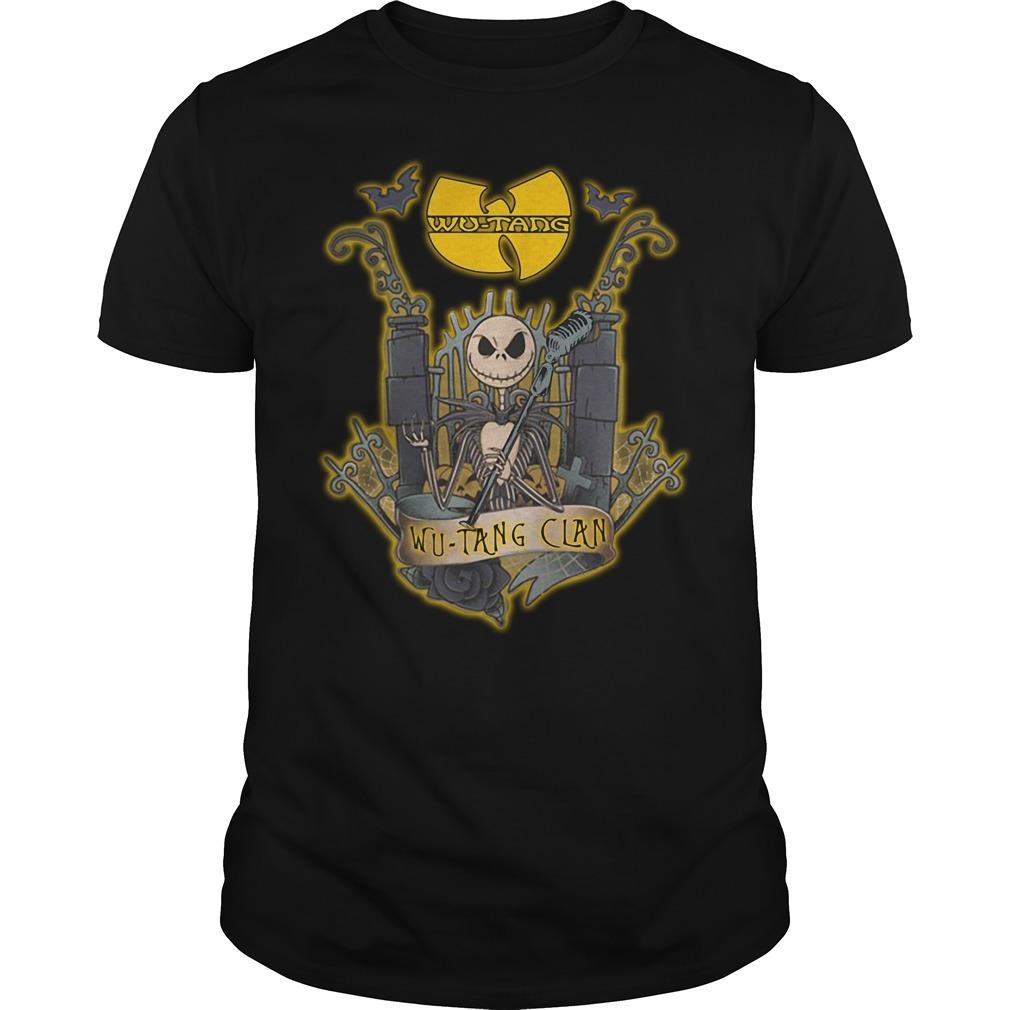 Halloween Jack Skellington Wu-Tang Clan Guys shirt