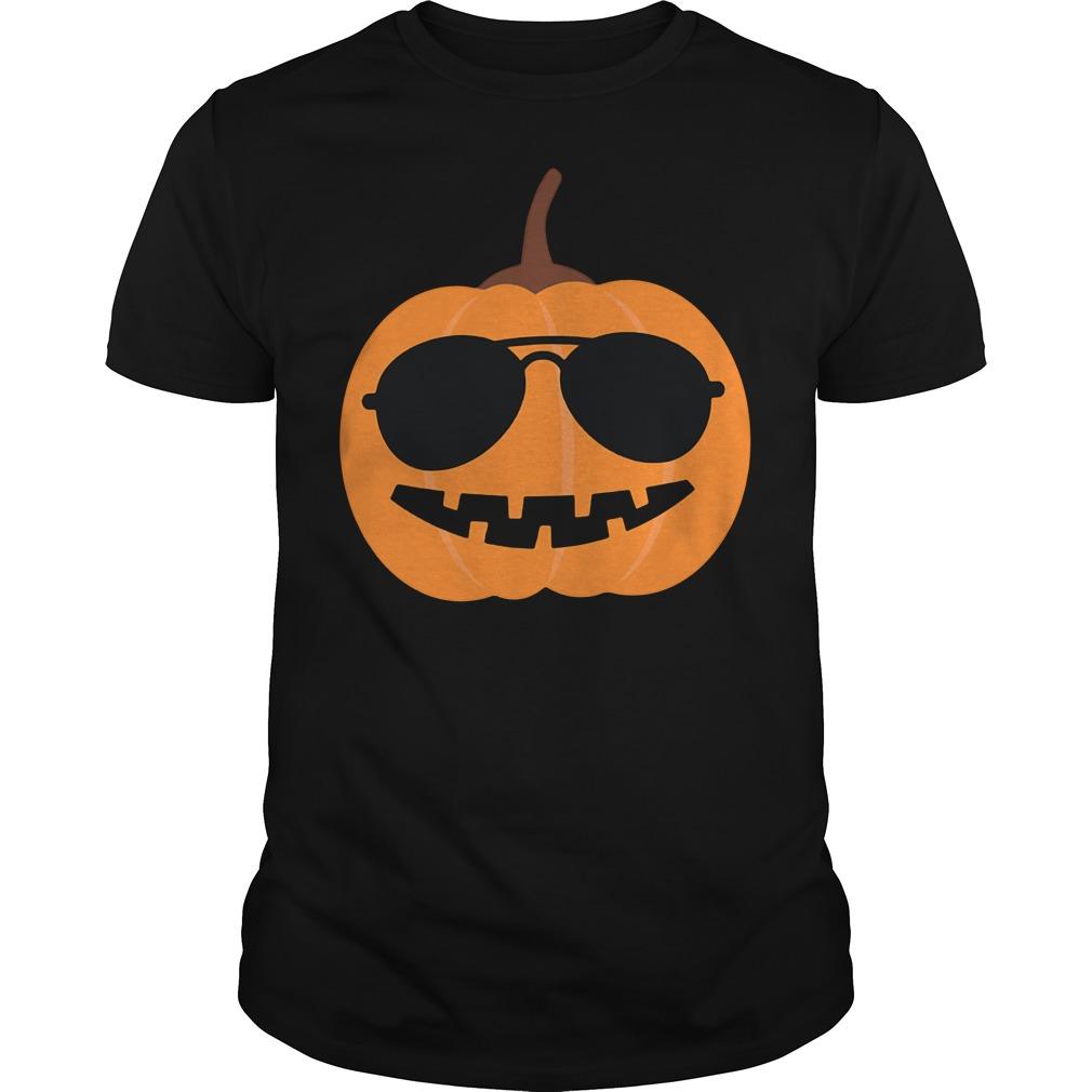 Halloween Too Cool Pumpkin Guys shirt