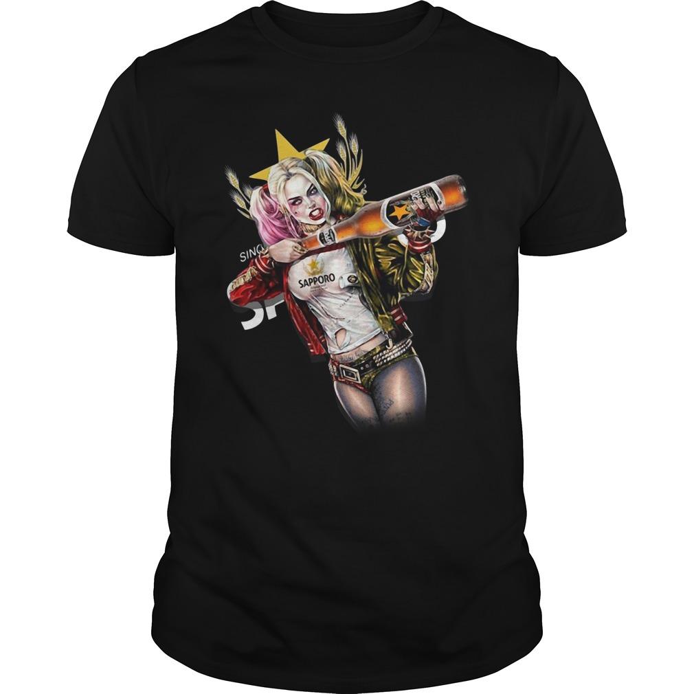 Harley Quinn Sapporo Brewery Guys shirt