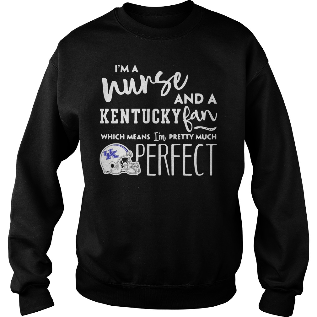 I'm a nurse and a Kentucky Wildcats fan which means I'm pretty much perfect Sweater