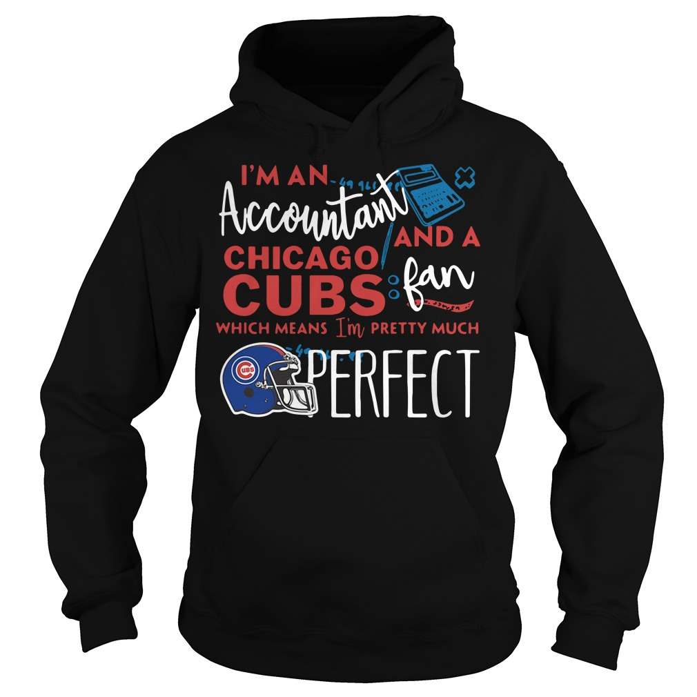 I'm an Accountant and a Chicago Cubs fan which means I'm pretty much perfect Hoodie