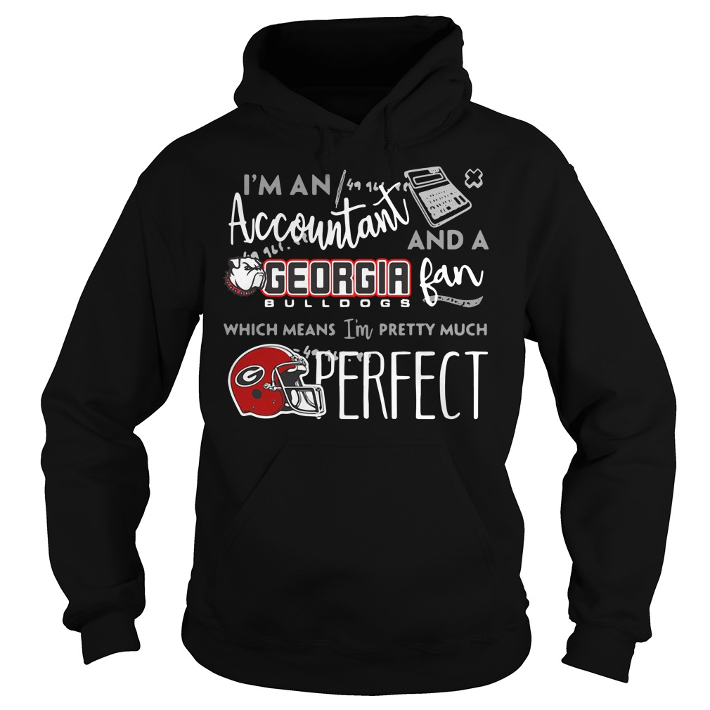 I'm a Accountant and a Georgia Bulldogs fan which means I'm pretty much perfect Hoodie