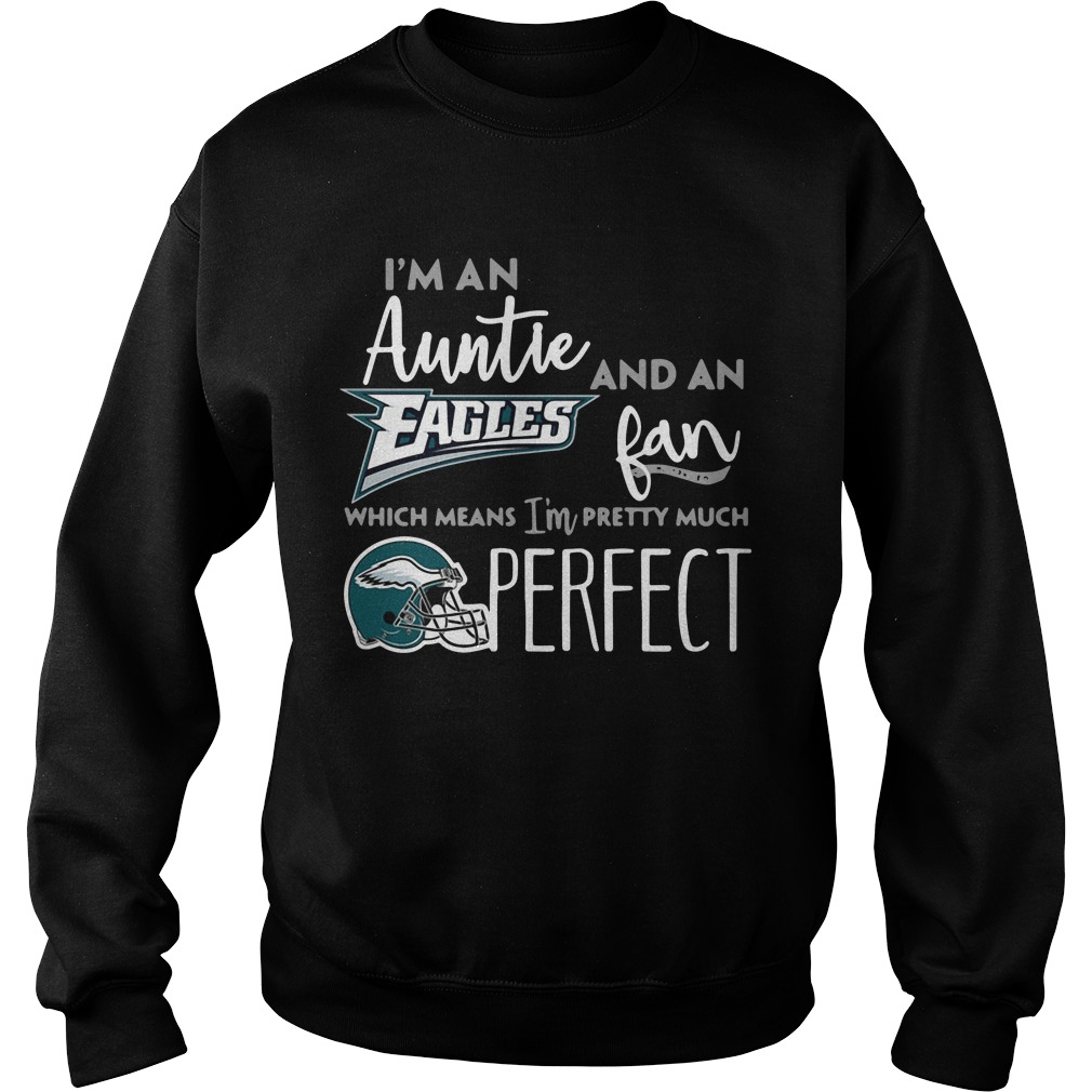 I'm an Auntie and an Philadelphia Eagles fan which means I'm pretty much perfect Sweater