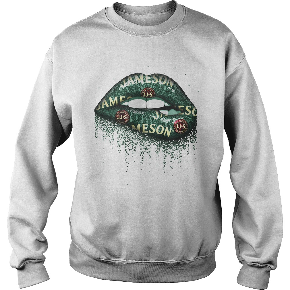 Jameson whisky lips Sweater