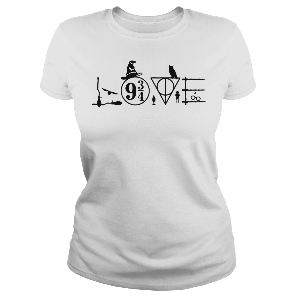 Love magic hogwarts school Harry Potter Ladies tee