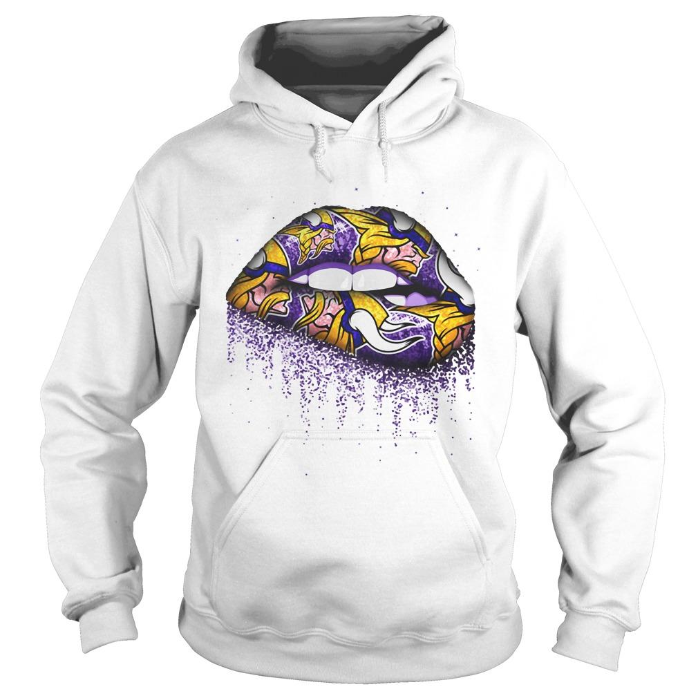 Minnesota Vikings lips Hoodie