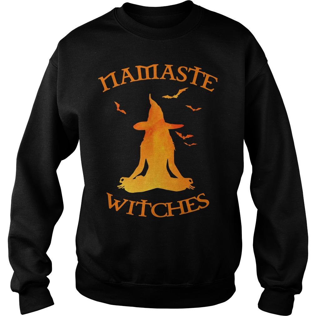 Namaste Yoga Witches Halloween gift Sweater