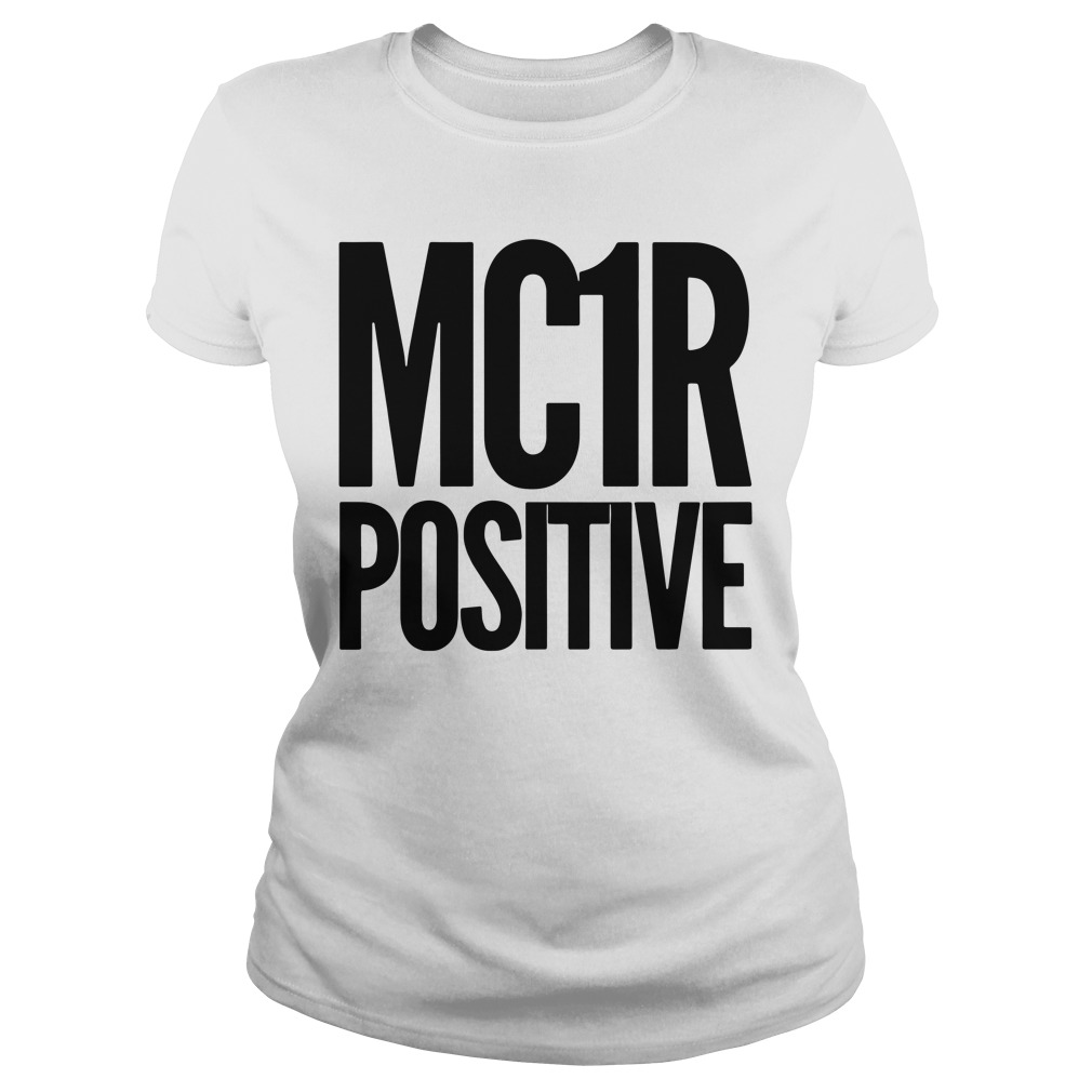 Official Mc 1R Positive Ladies tee