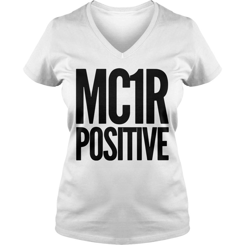 Official Mc 1R Positive V-neck T-shirt