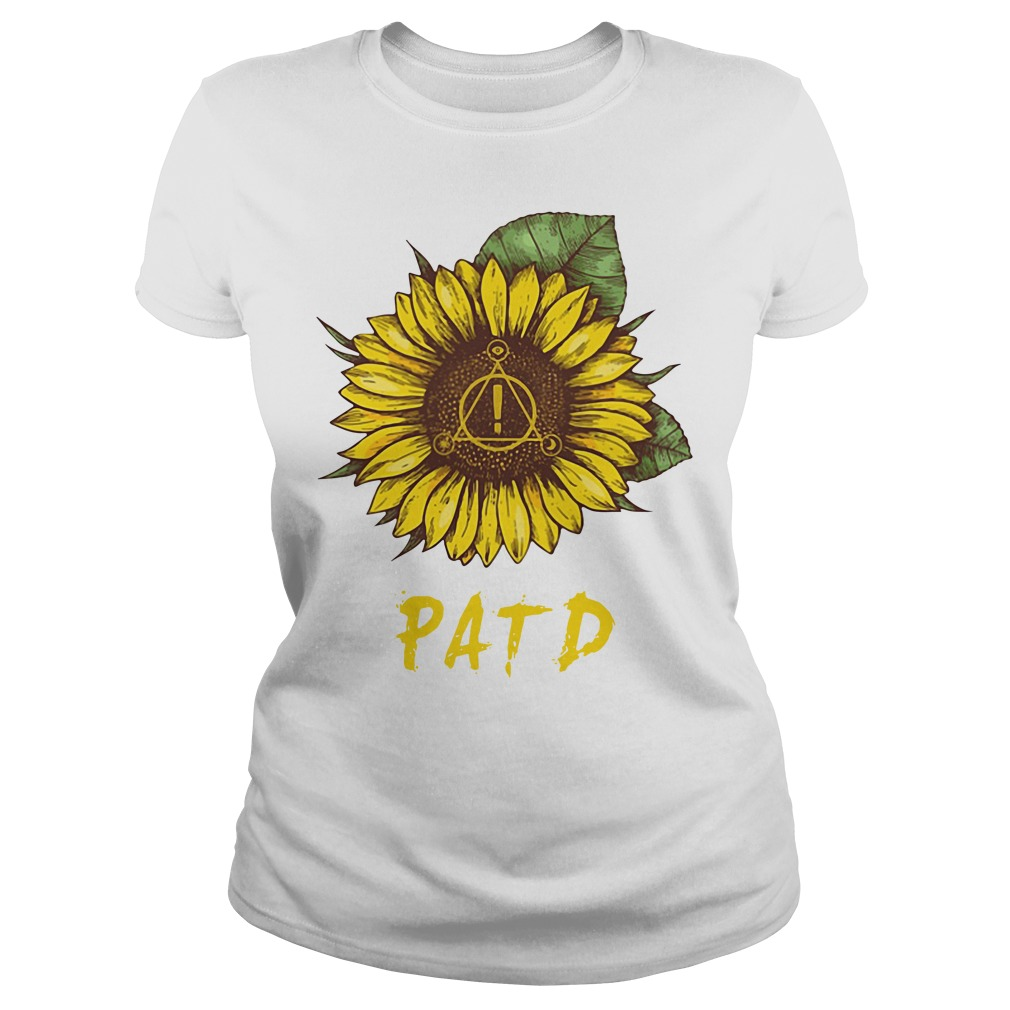 PATD-Panic at the Disco sunflower Ladies tee