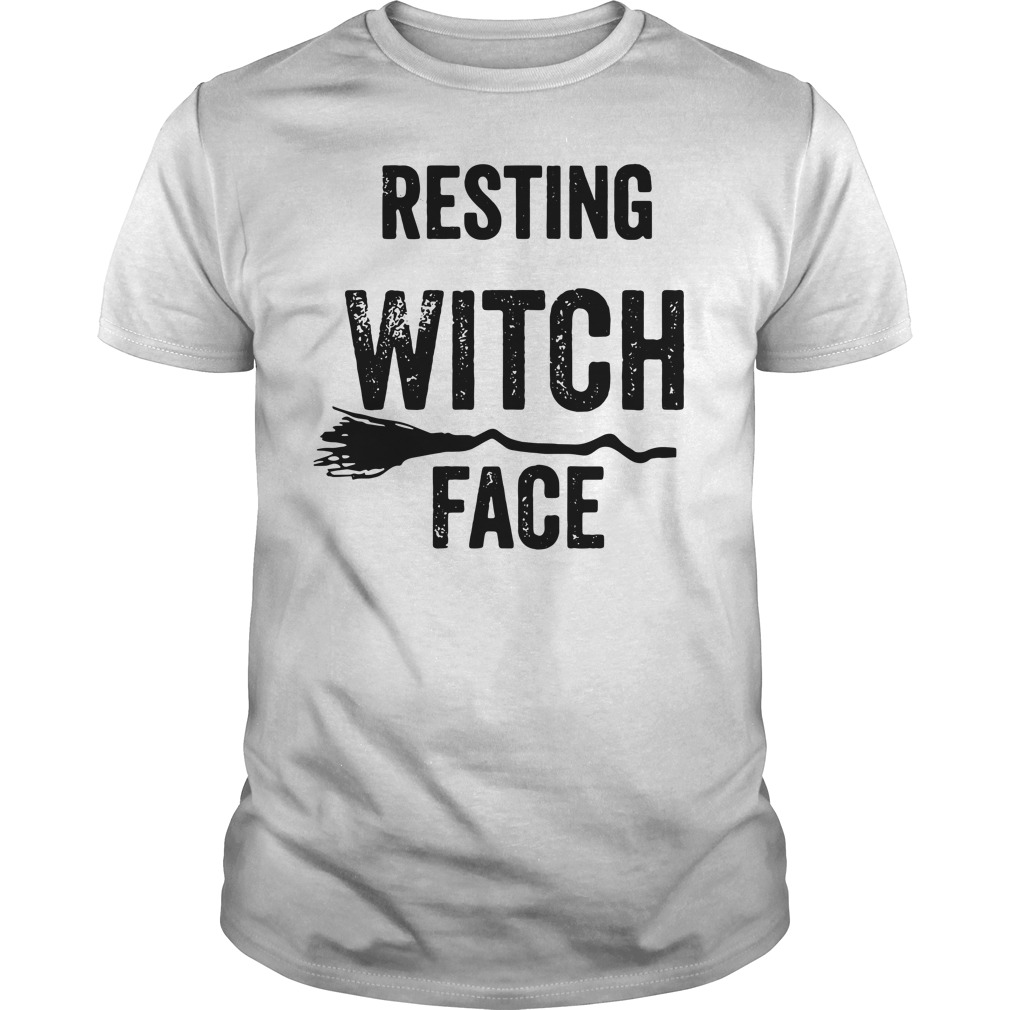 Resting witch face Guys shirt