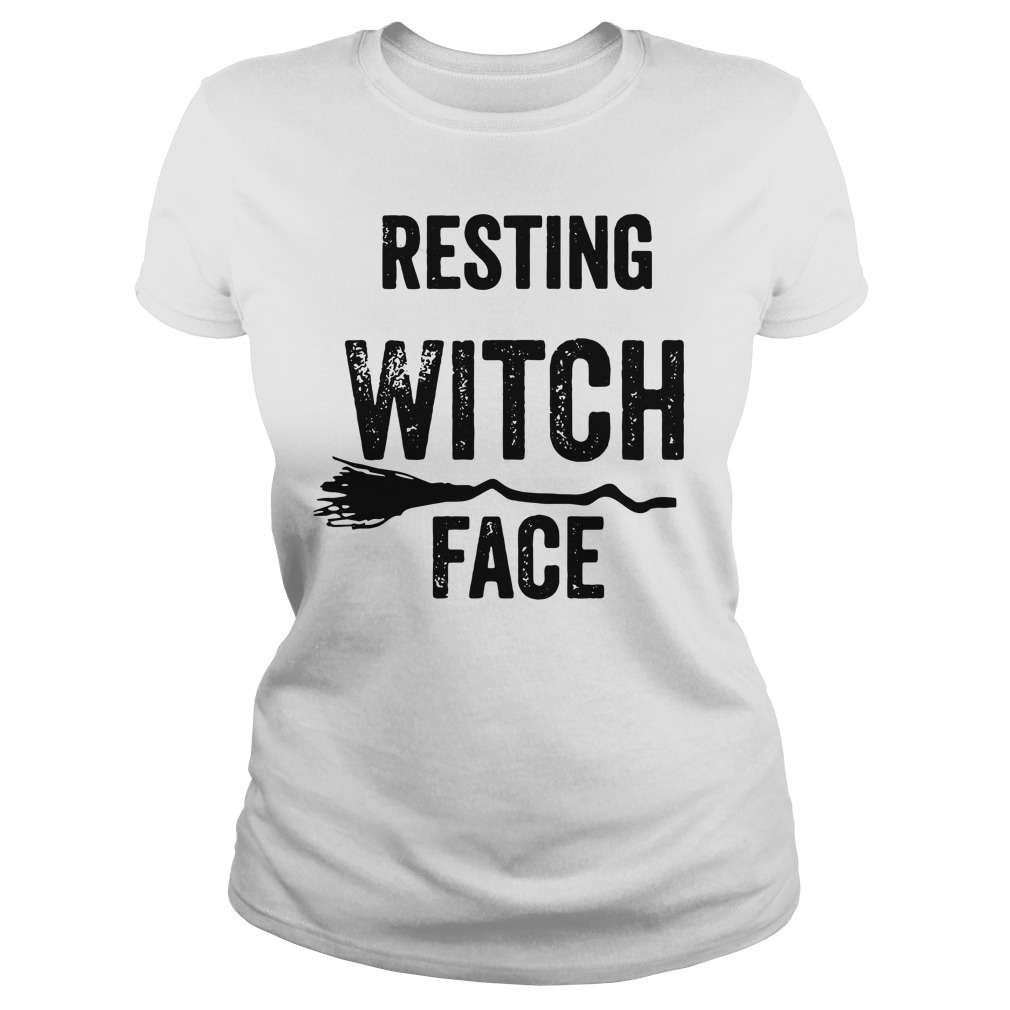 Resting witch face Ladies tee