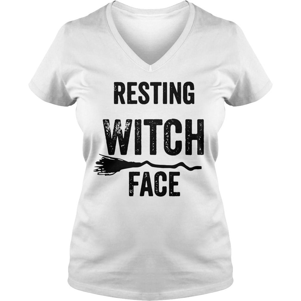 Resting witch face V-neck T-shirt