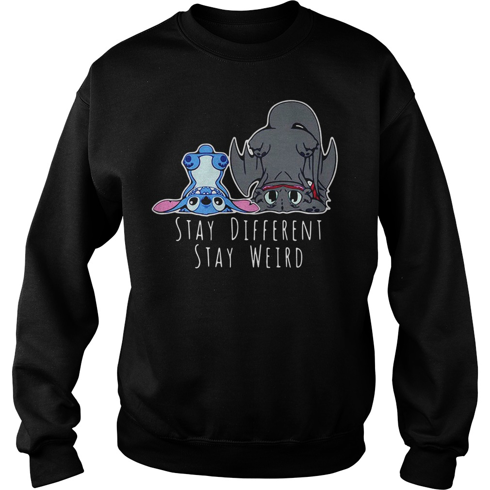 Stay different stay weird Sweater