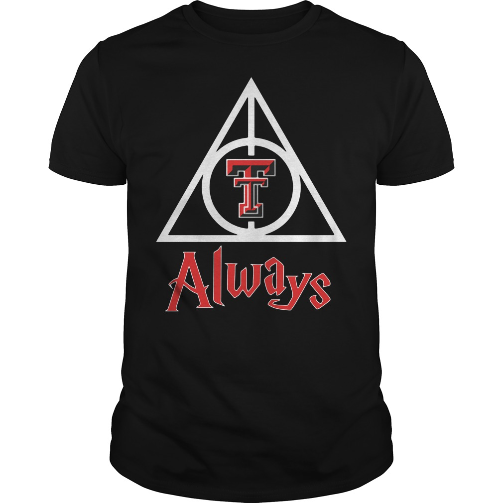 Texas Tech Red Raiders - Deathly Hallows Guys shirt