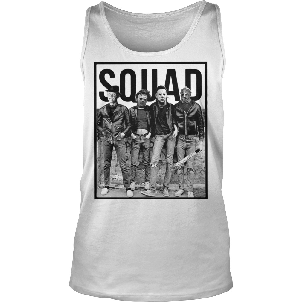 The Nightmare Ends On Halloween Squad Tank top