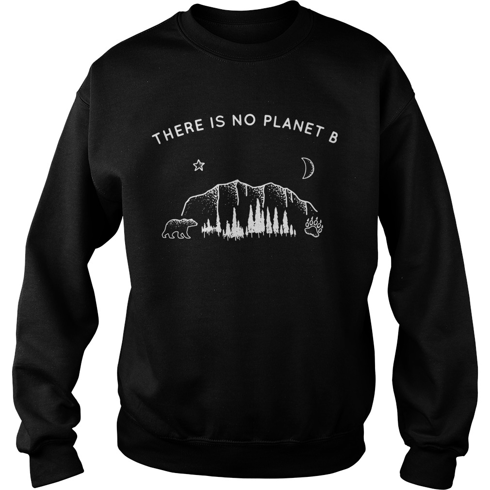There is no planet B Bear Star Paw Moon Sweater