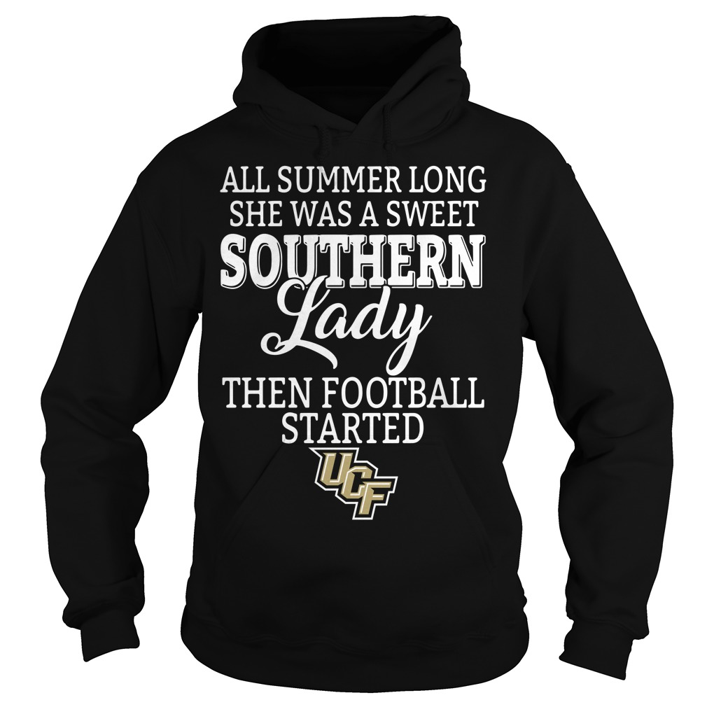 UCF Knights all summer long she was a sweet southern lady Hoodie