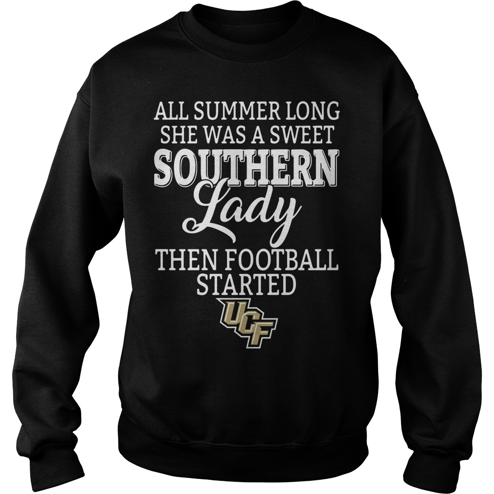 UCF Knights all summer long she was a sweet southern lady Sweater