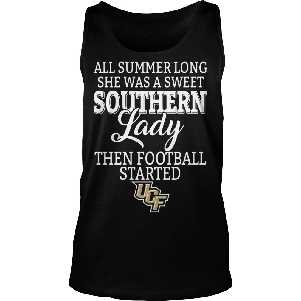 UCF Knights all summer long she was a sweet southern lady Tank top
