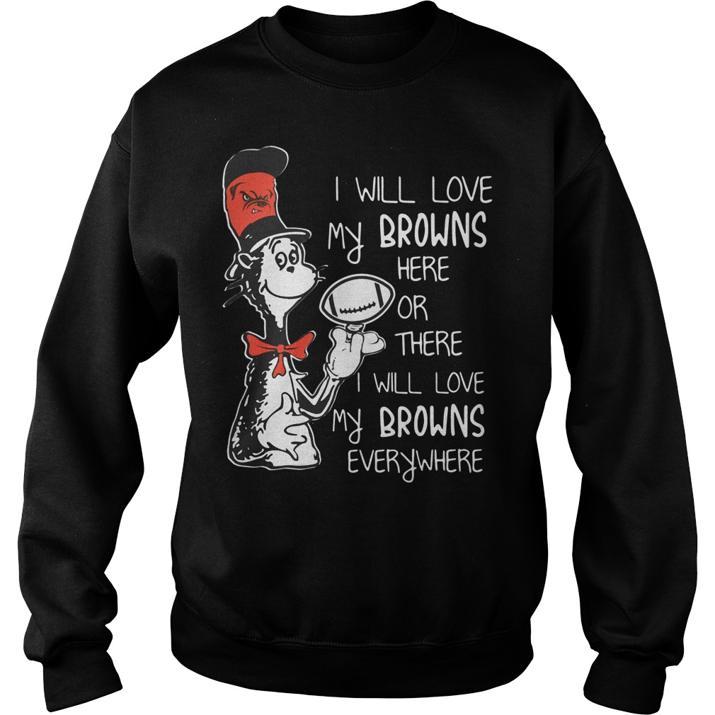 I will love my Cleveland Browns here Sweater