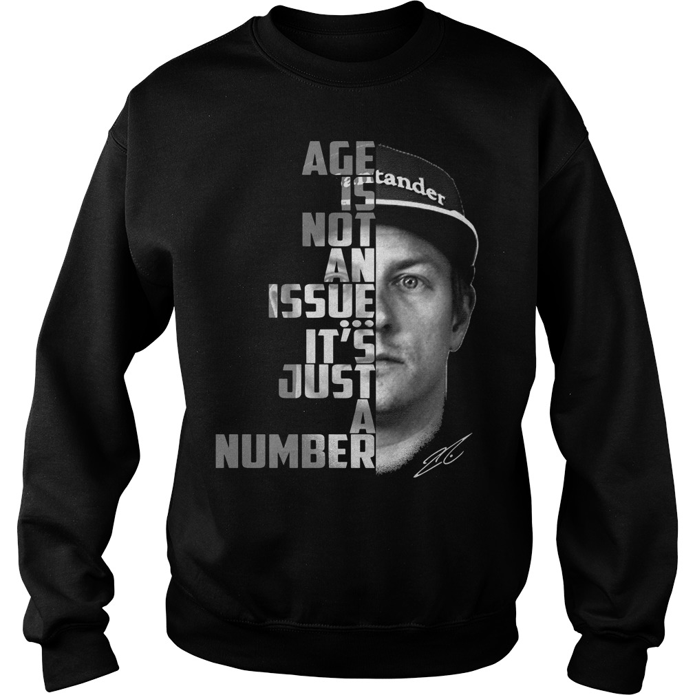 Age is not an issue it's just a number Sweater