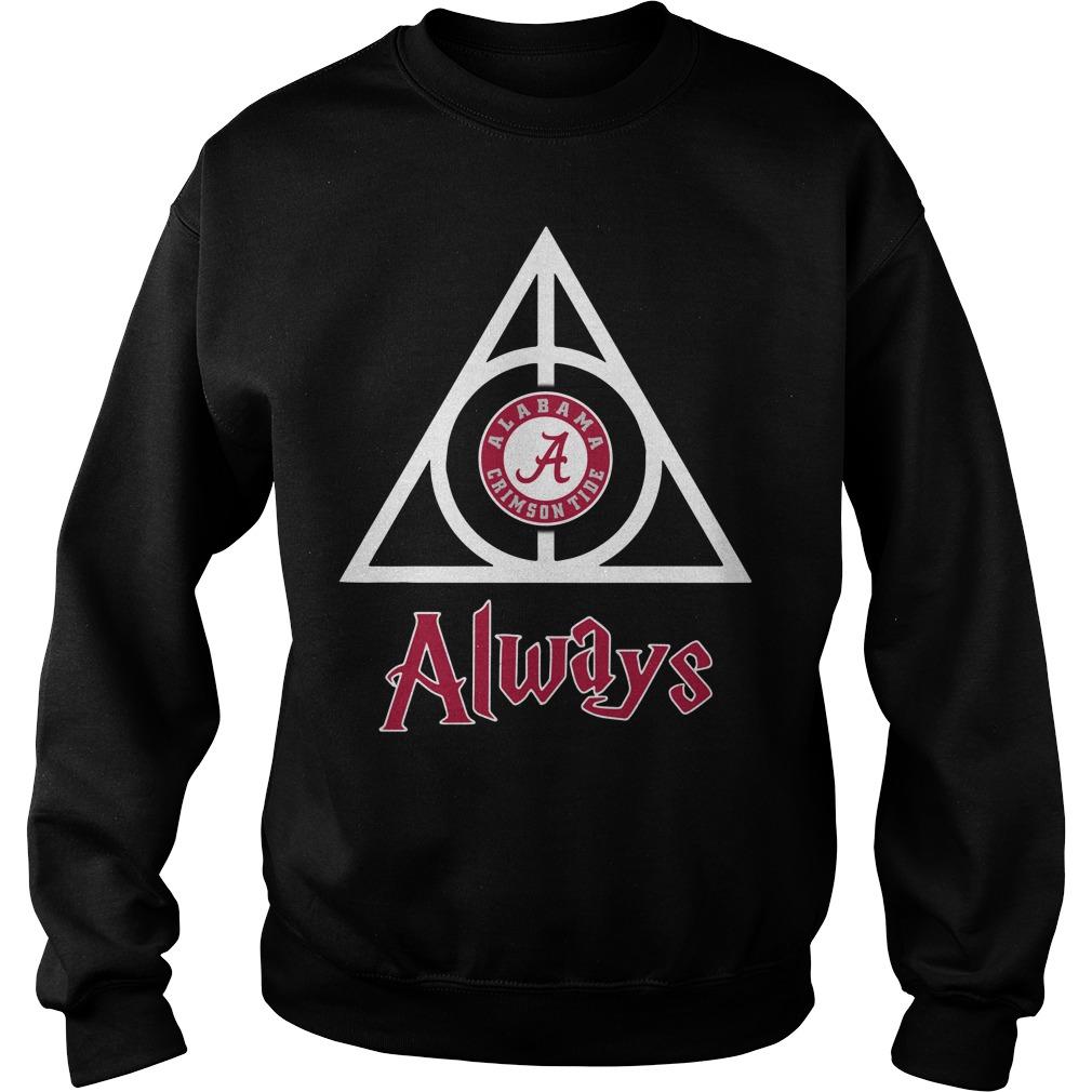 Alabama Crimson Tide Deathly Hallows Always Sweater