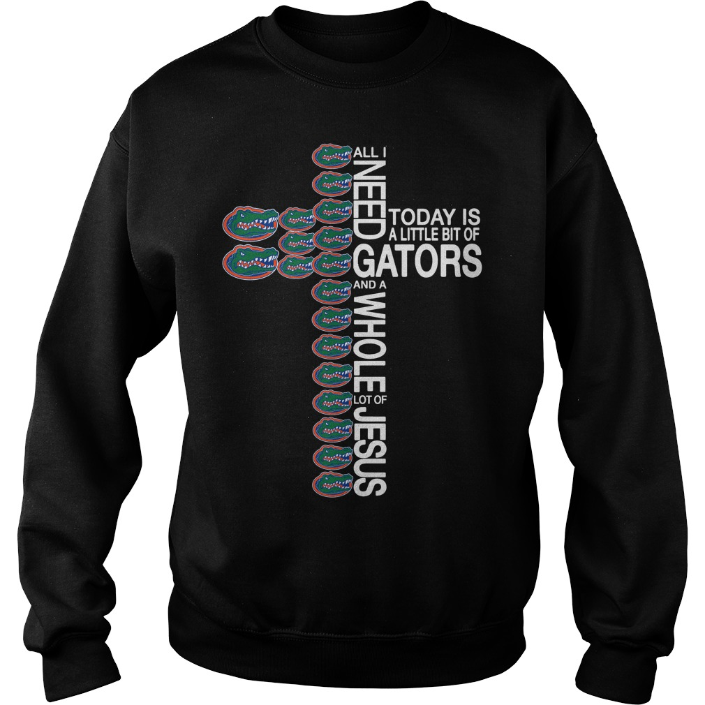 All I need today is a little bit of Florida Gators and a whole lot of Jesus Sweater