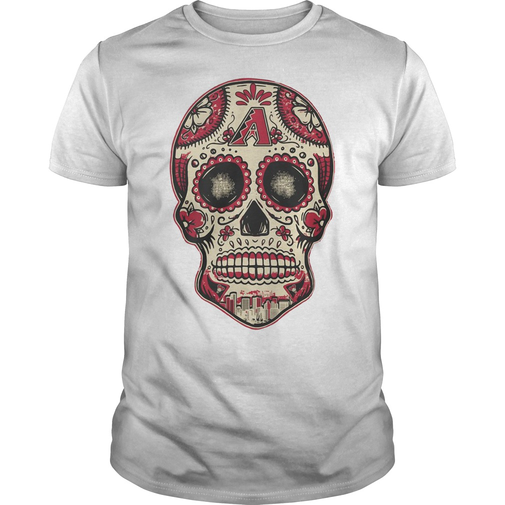 Arizona Diamondbacks skull Guys shirt