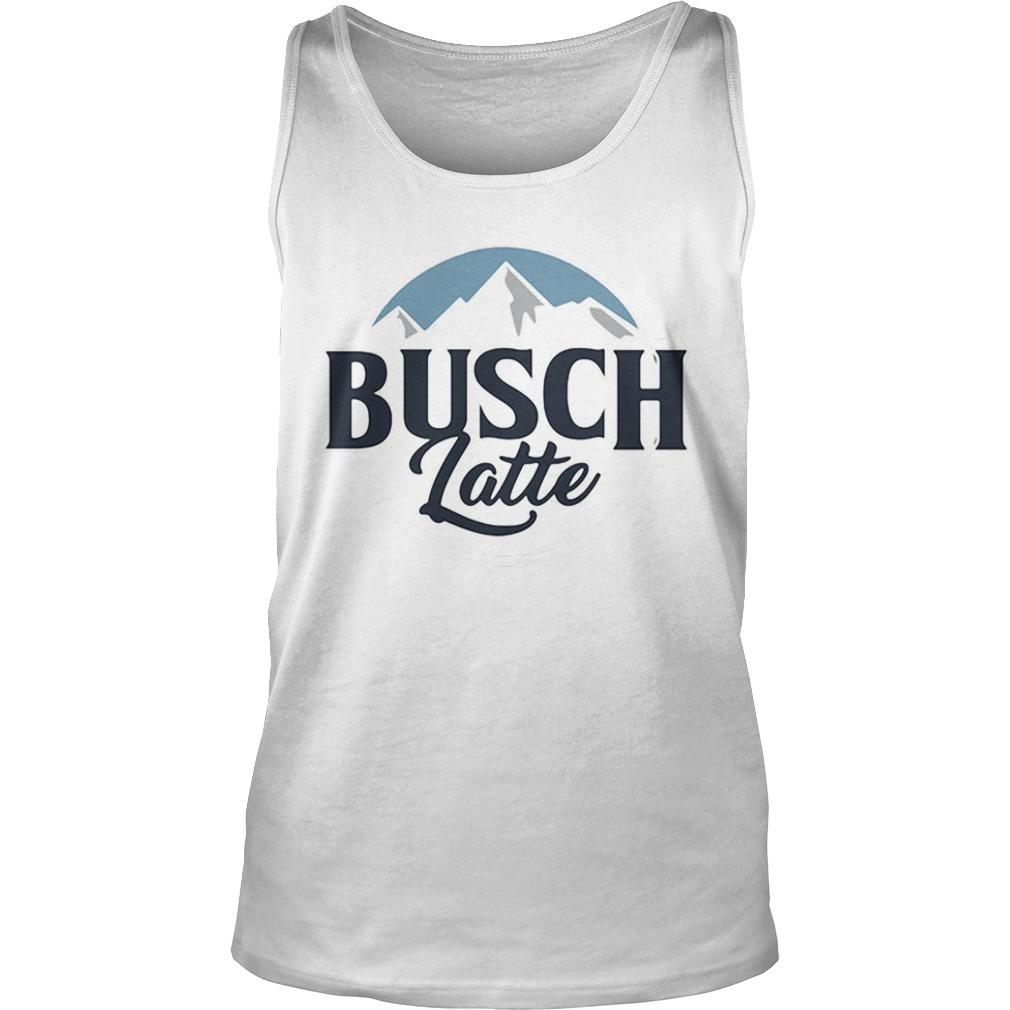 Busch latte busch light Tank top