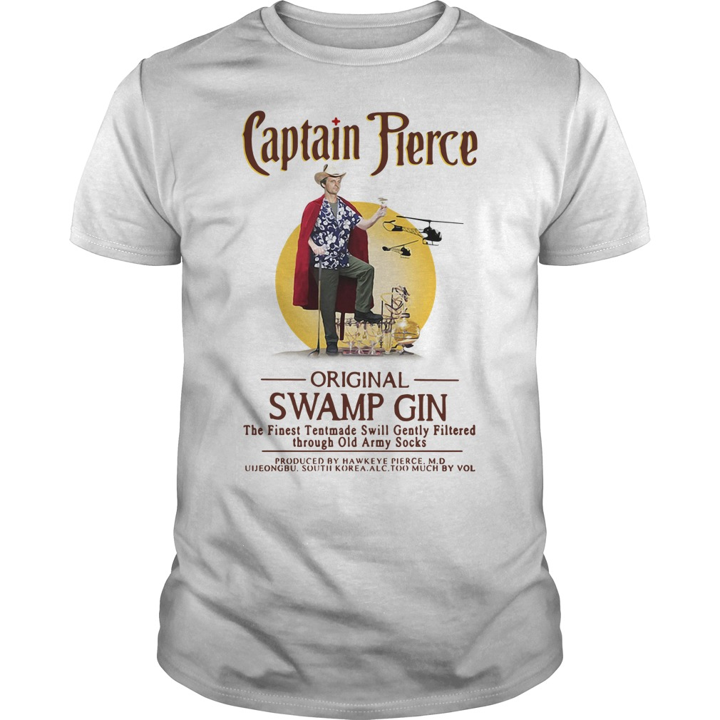 Captain Pierce Original Swamp Gin Guys shirt
