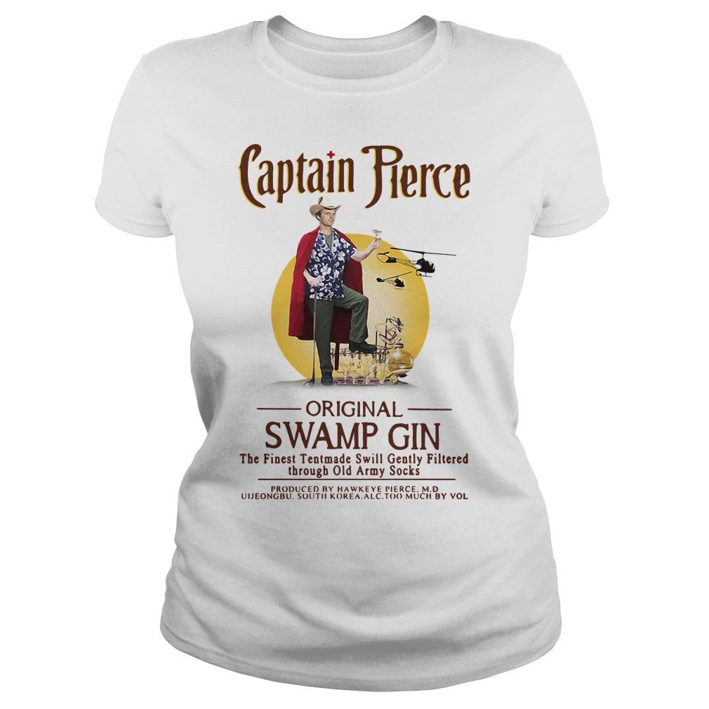 Captain Pierce Original Swamp Gin Ladies tee