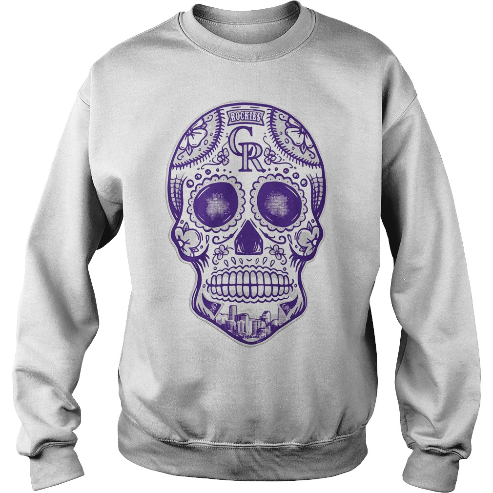 Colorado Rockies skull Sweater