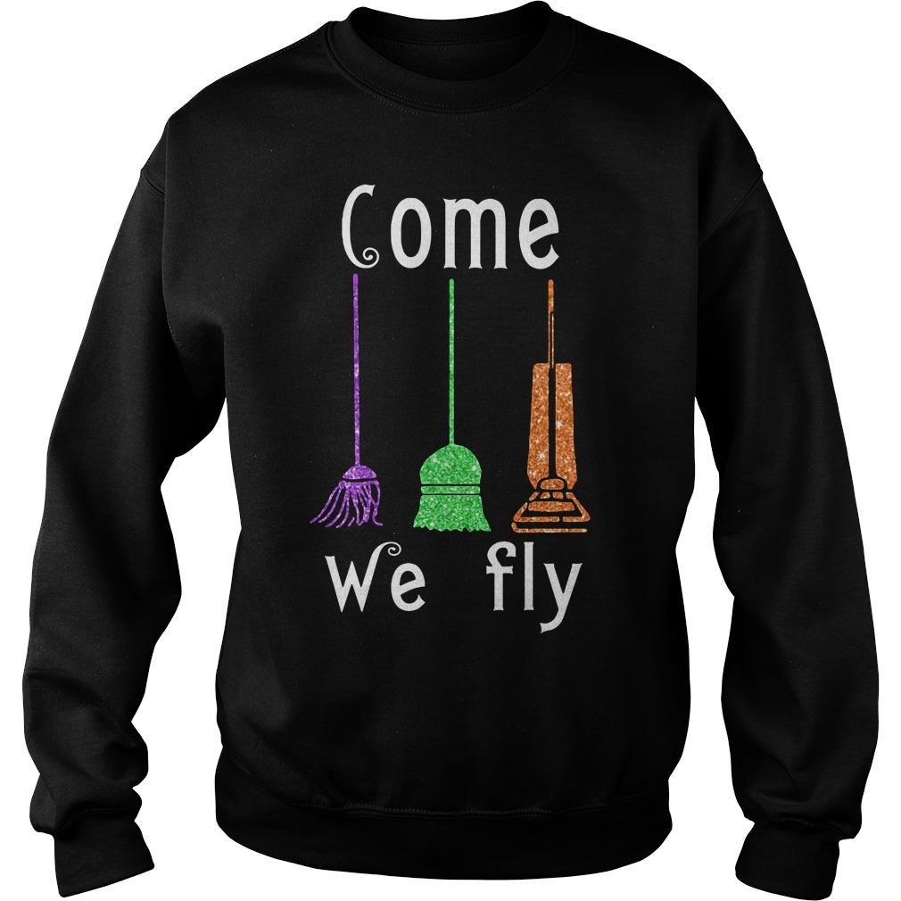 Come We Fly Hocus Pocus Halloween Sweater
