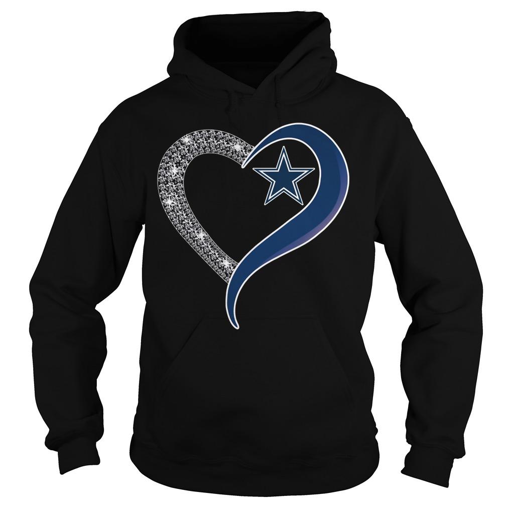 Diamond Dallas Cowboys love Hoodie