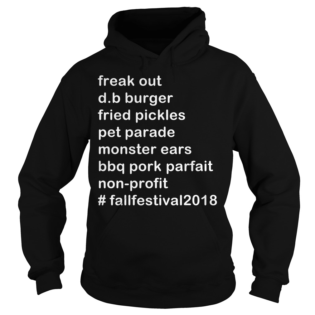 Freak out d.b. burger fried pickles pet parade monster Hoodie