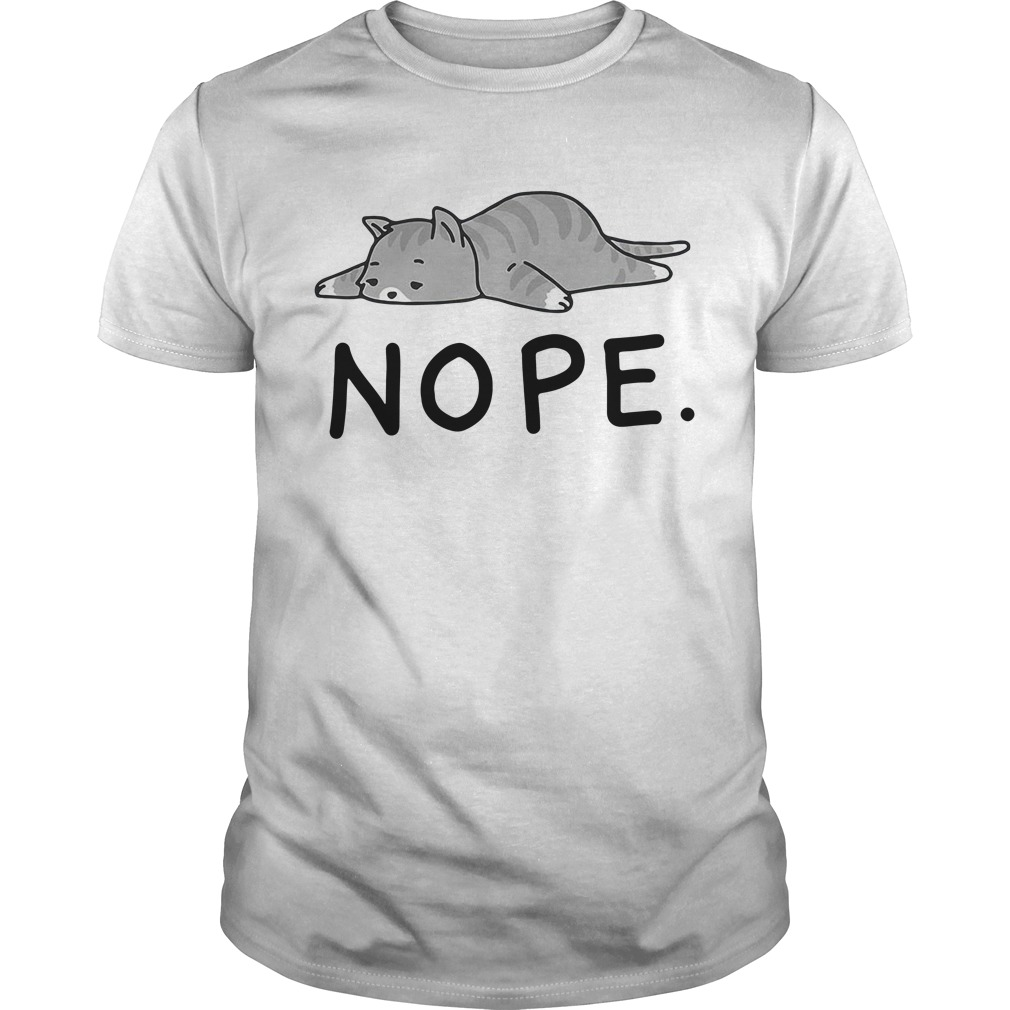 Grumpy Cat Nope Guys shirt