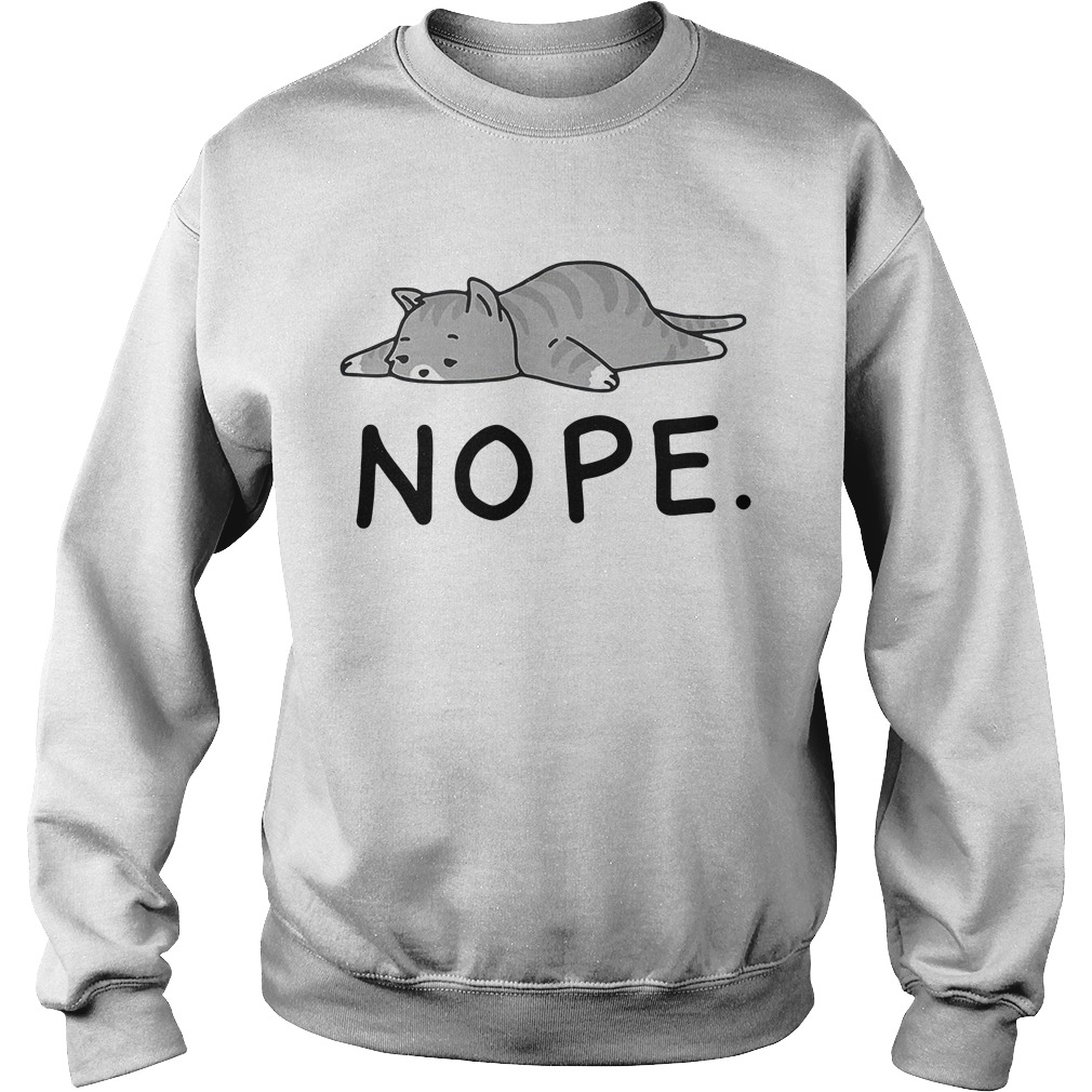 Grumpy Cat Nope Sweater
