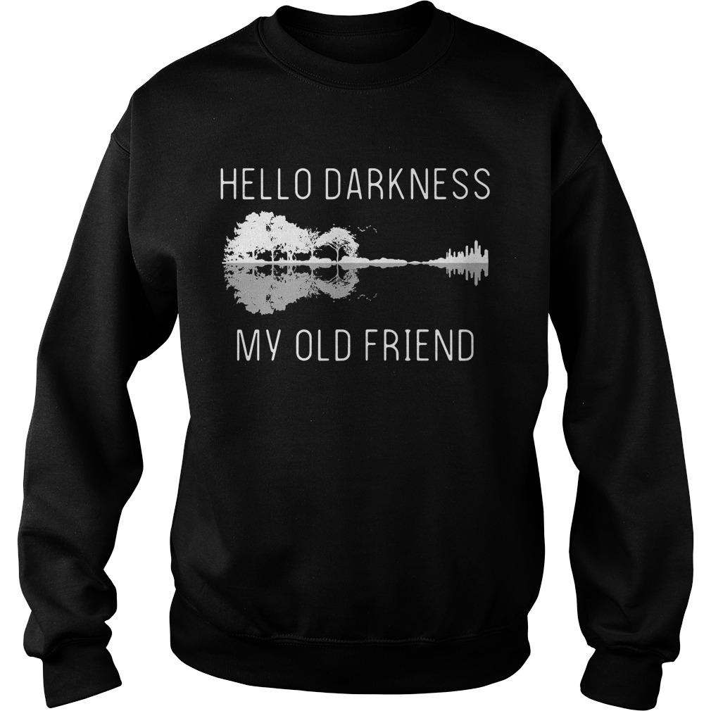 Guitar hello darkness my old friend Sweater