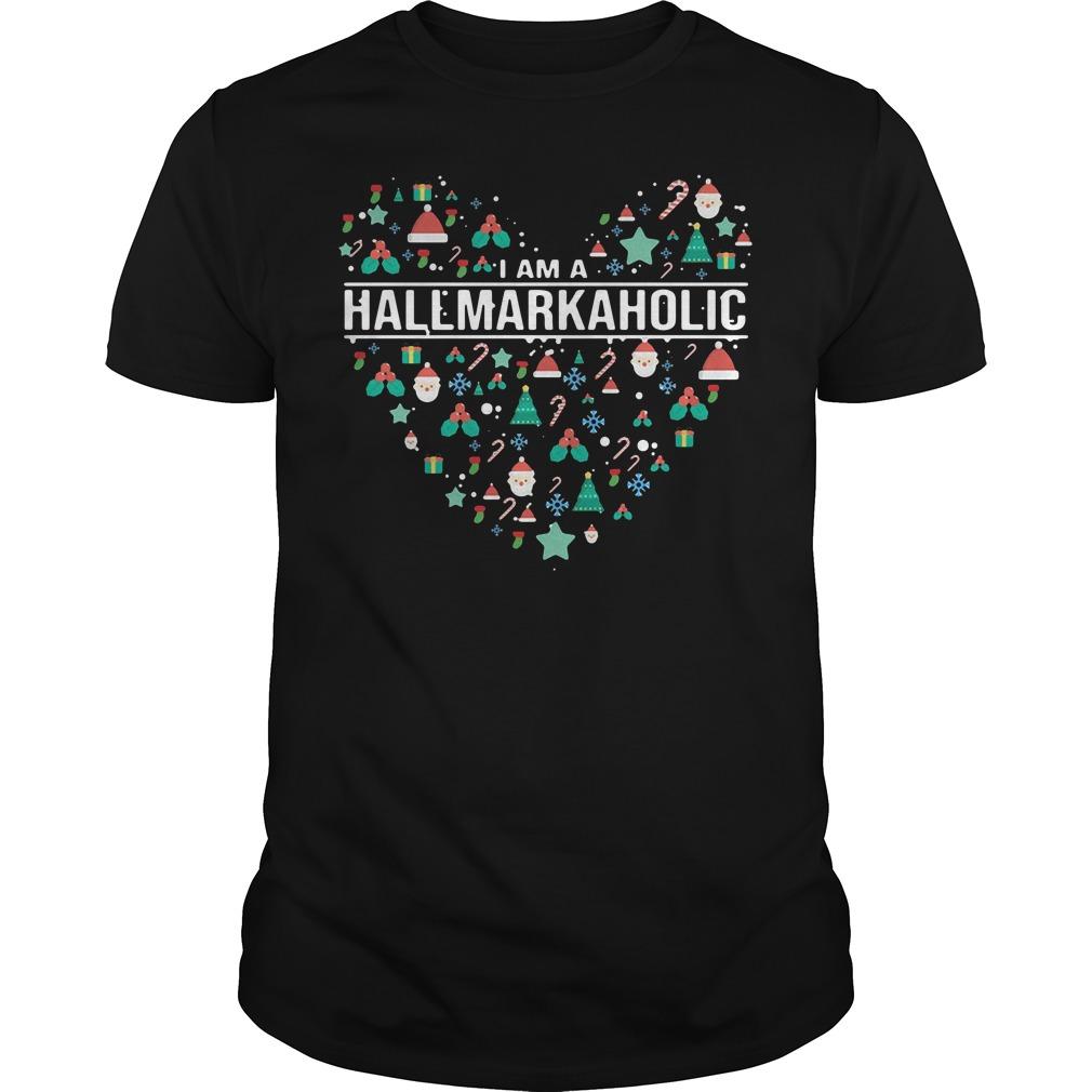I am a Hallmark Aholic Hallmark Guys shirt