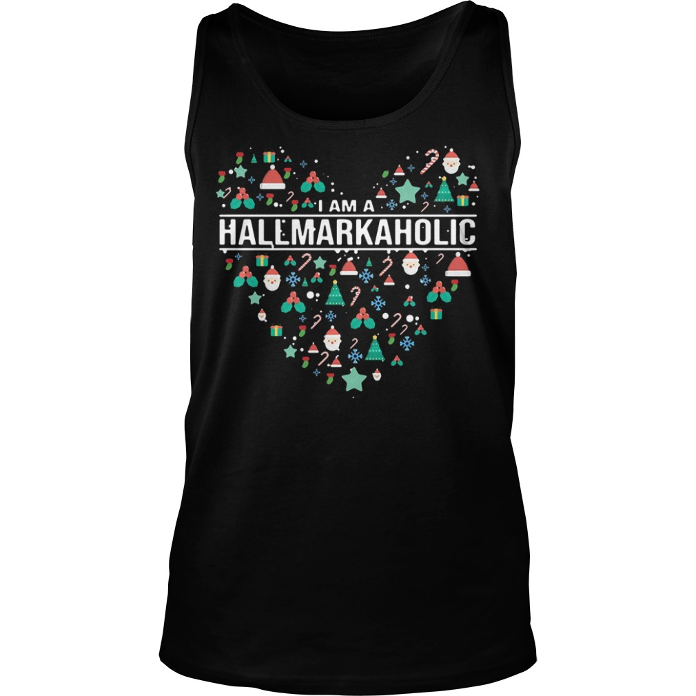 I am a Hallmark Aholic Hallmark Tank top