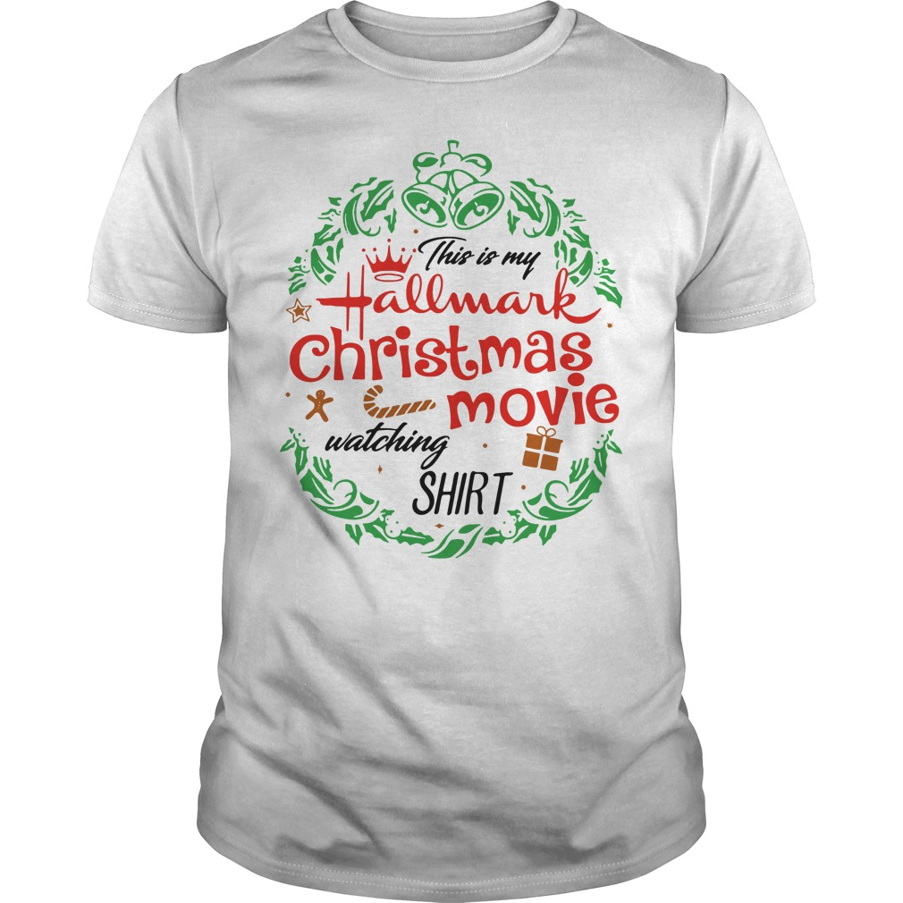 This is my hallmark christmas movie watching mug Guys shirt